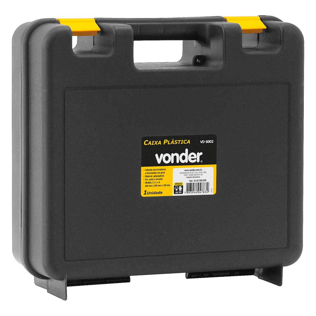Maleta Caixa Plastica Vonder Vd-6002-6107600200