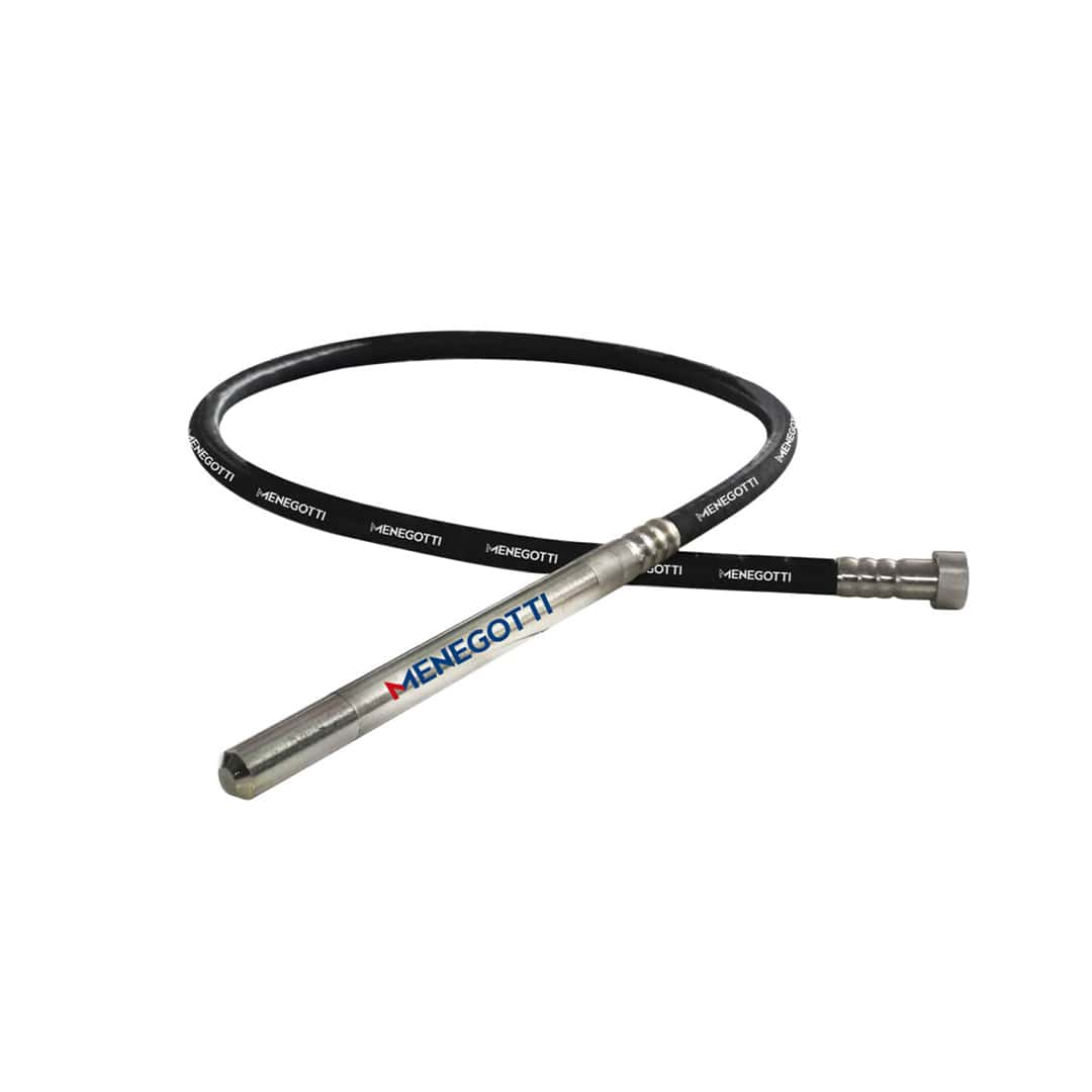 Mangote 2,5mts X 35mm P/ Vibrador Concreto Menegotti tipo Furadeira MPV - 40730043