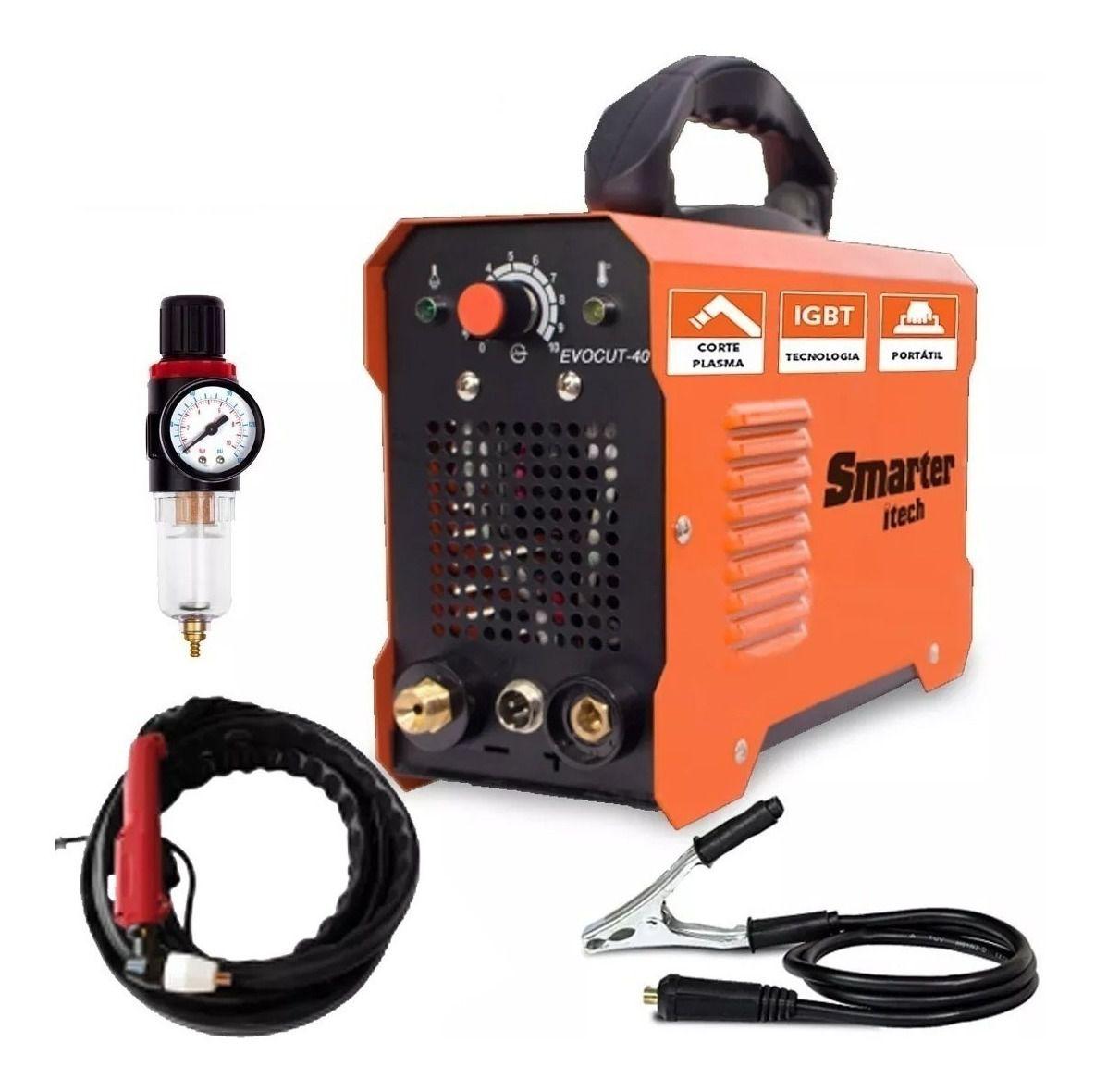 Maquina Corte Plasma Manual EVOCUT 40 220V-SMARTER