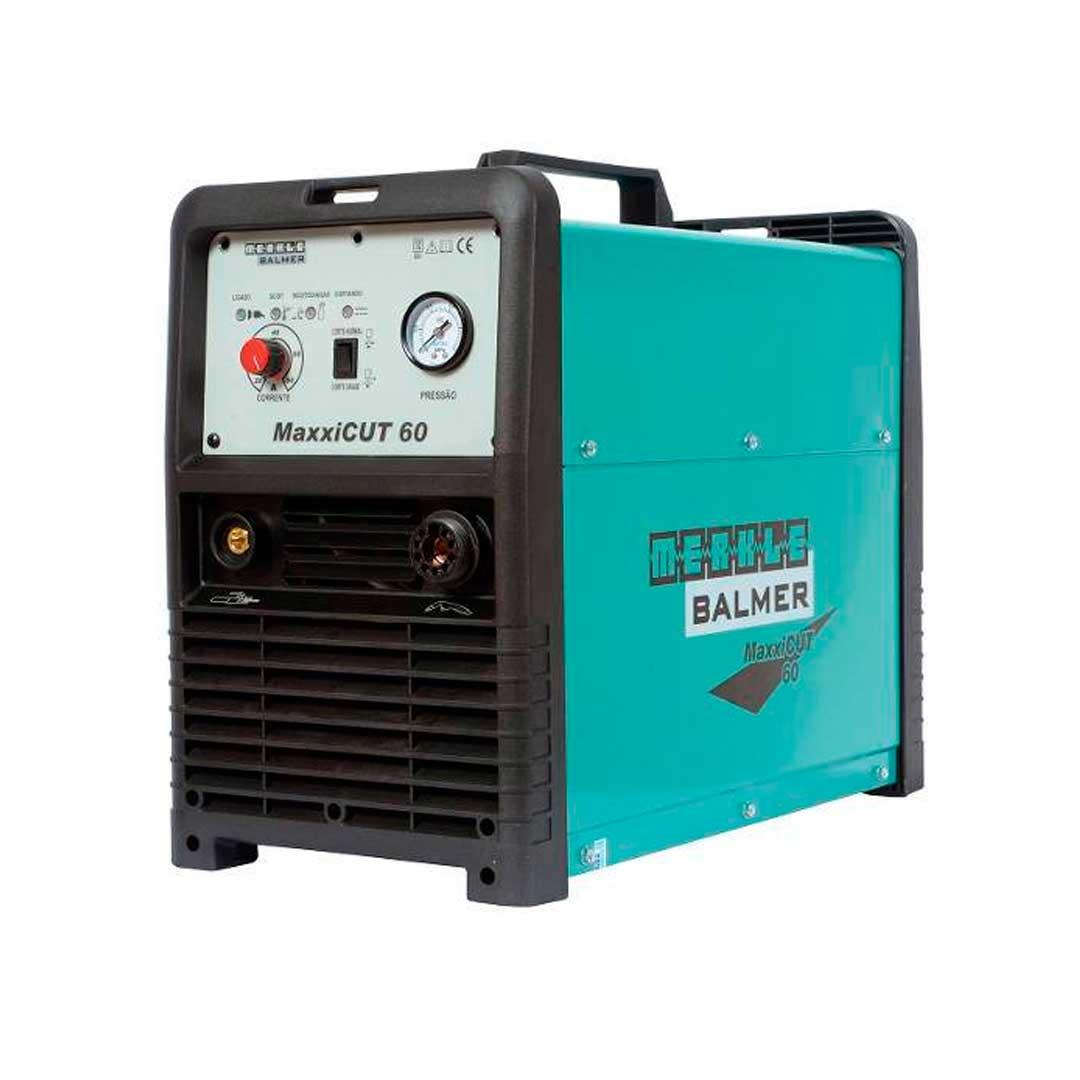 Maquina De Corte Plasma Manual Balmer Maxxicut 60 Tri 380v