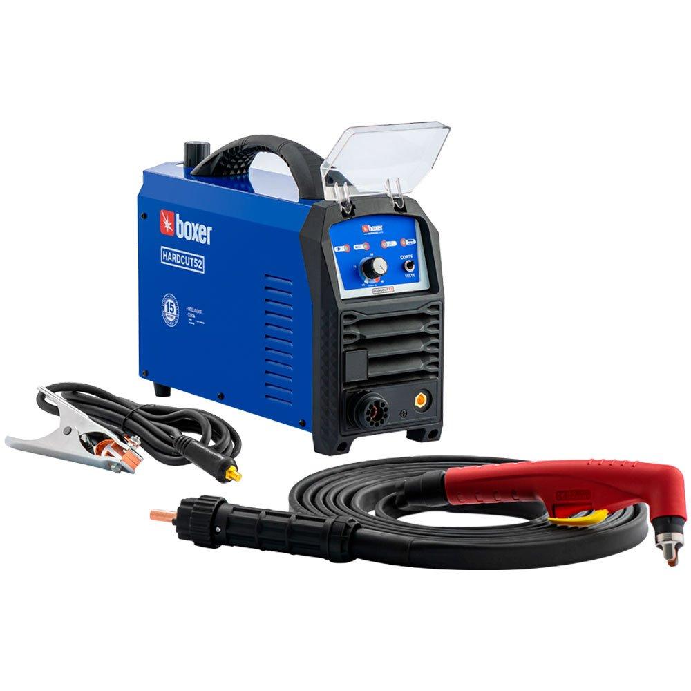 Máquina de Corte Plasma Manual BOXER HARDCUT 52 Mono 220V