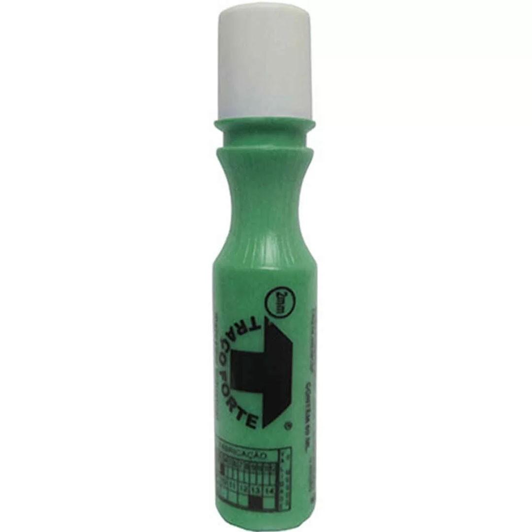 Marcador Industrial Verde Bico 2mm 60ml TRAÇO FORTE BADEN