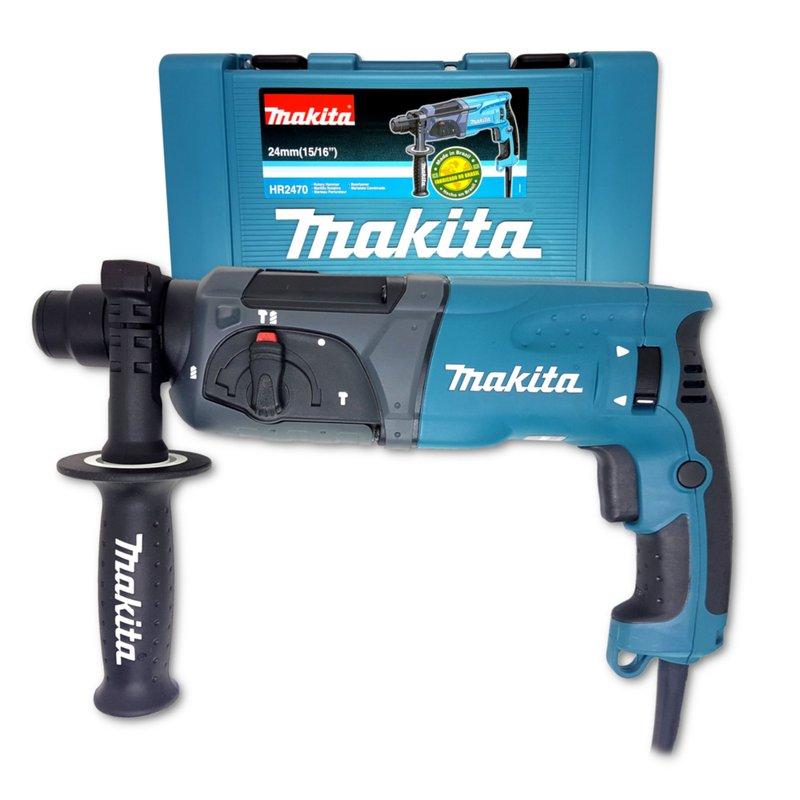 Martelete Rotativo Rompedor Sds 800w Makita HR2470 (220v)