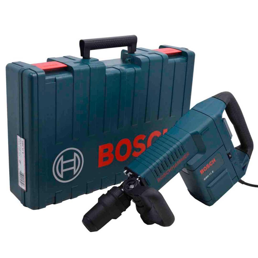 Martelo Demolidor Bosch GSH 11E 1500w (220v) 0611316714