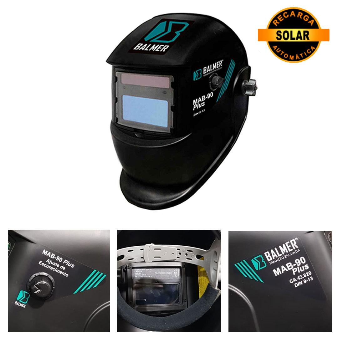 Máscara de Solda Automática BALMER MAB-90 PLUS