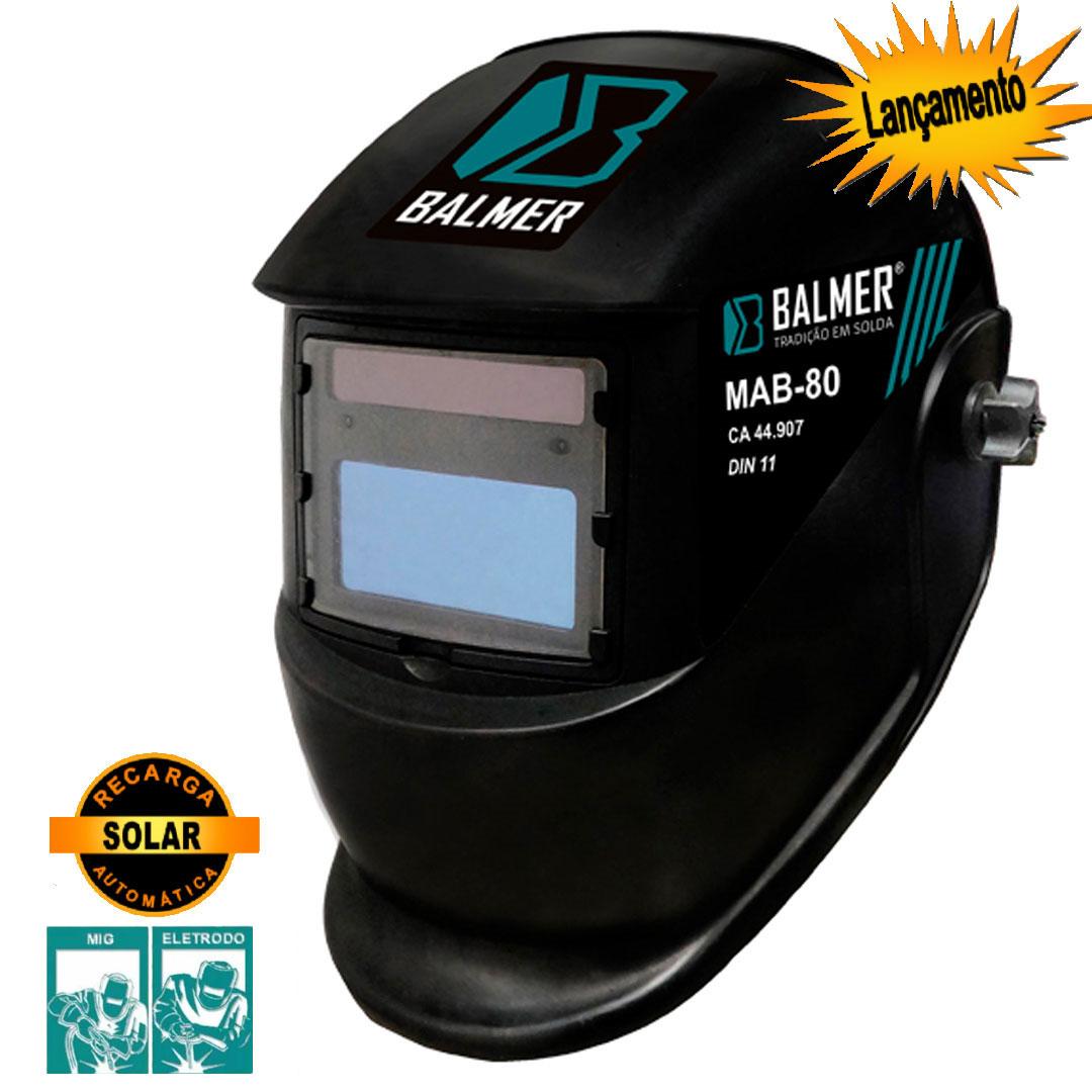 Máscara de Solda Escurecimento Automático BALMER MAB-80