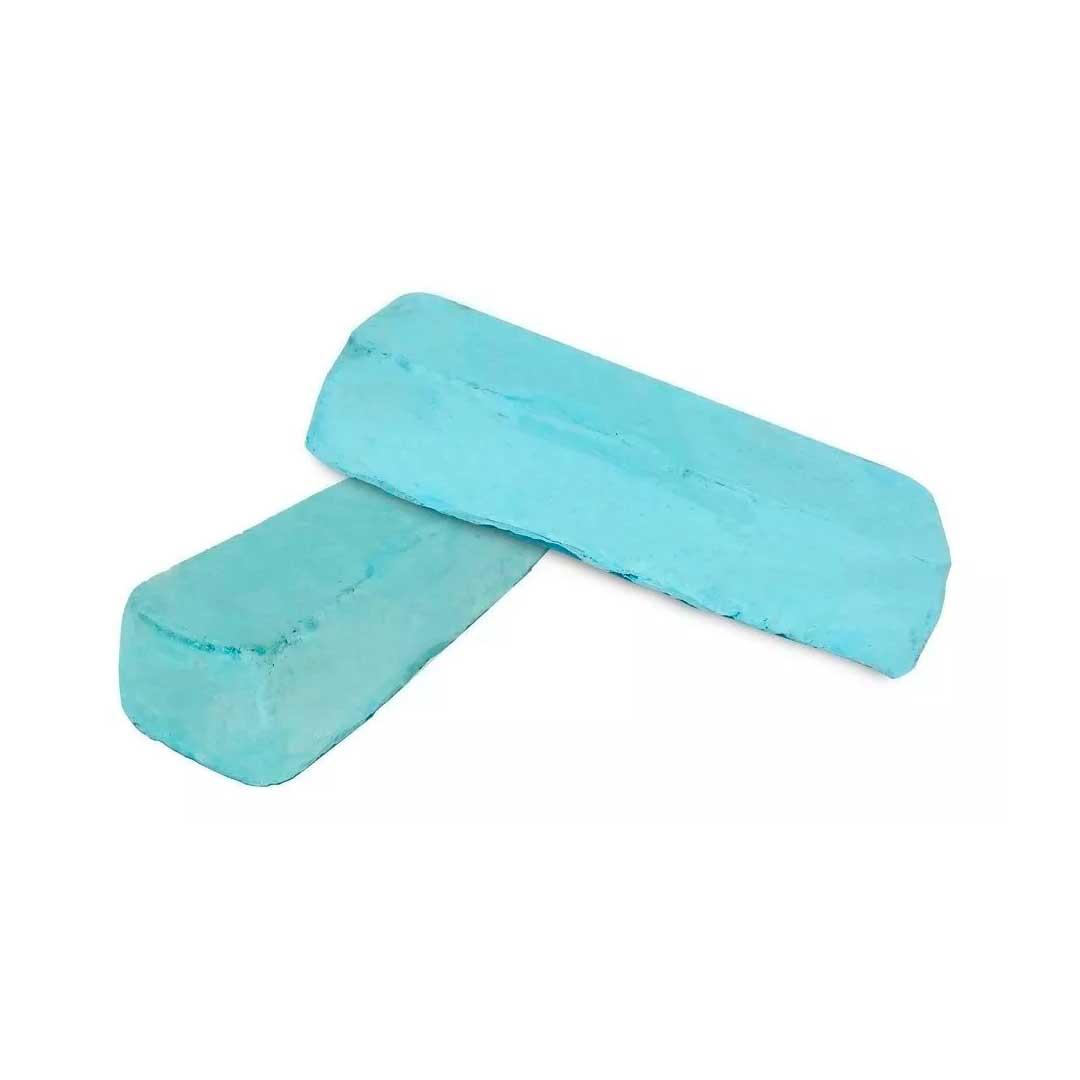 Massa Pedra Azul Abrasiva Polir E Lustrar Alto Brilho