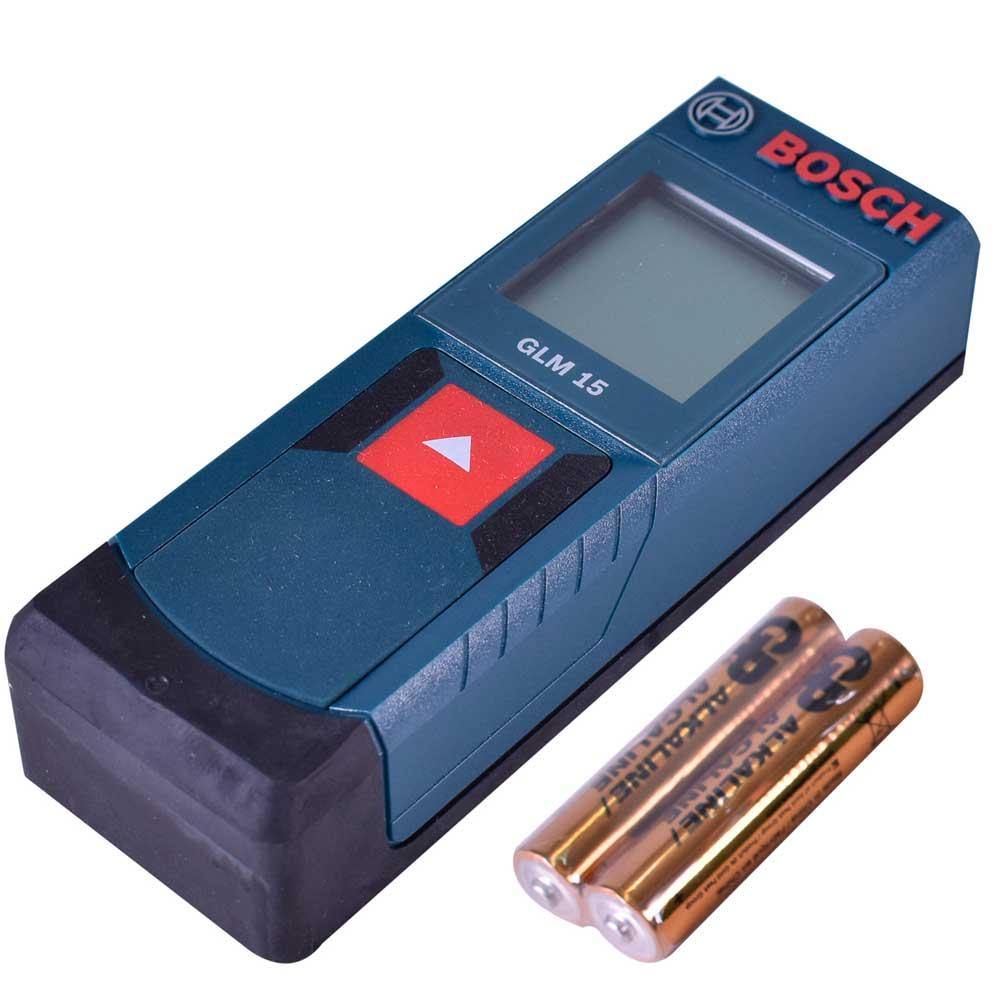 Medidor de Distancia 15 Mt Bosch GLM 15 0601072800