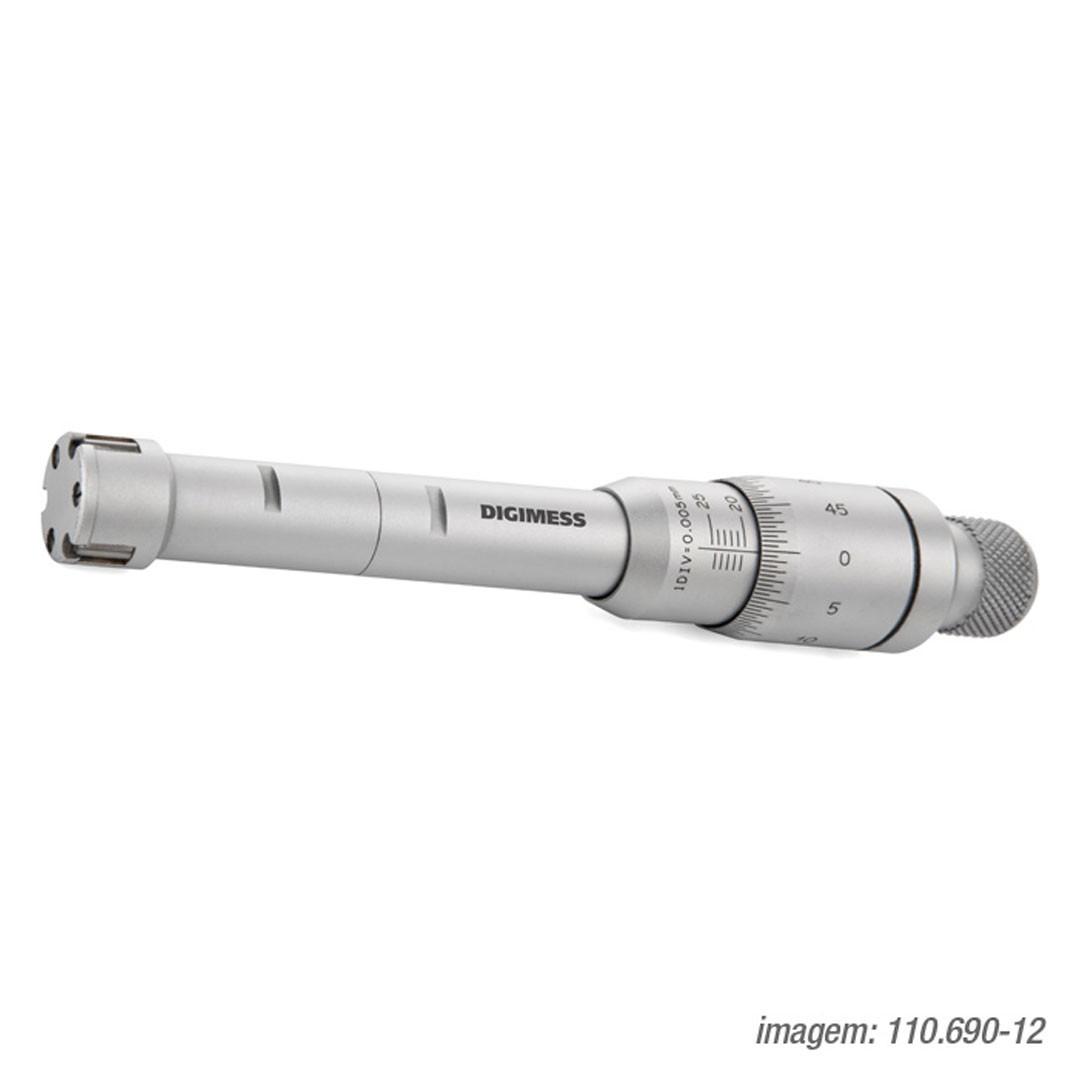 Micrometro Interno 3 Contatos 20 a 25mm DIGIMESS - 110.690-12