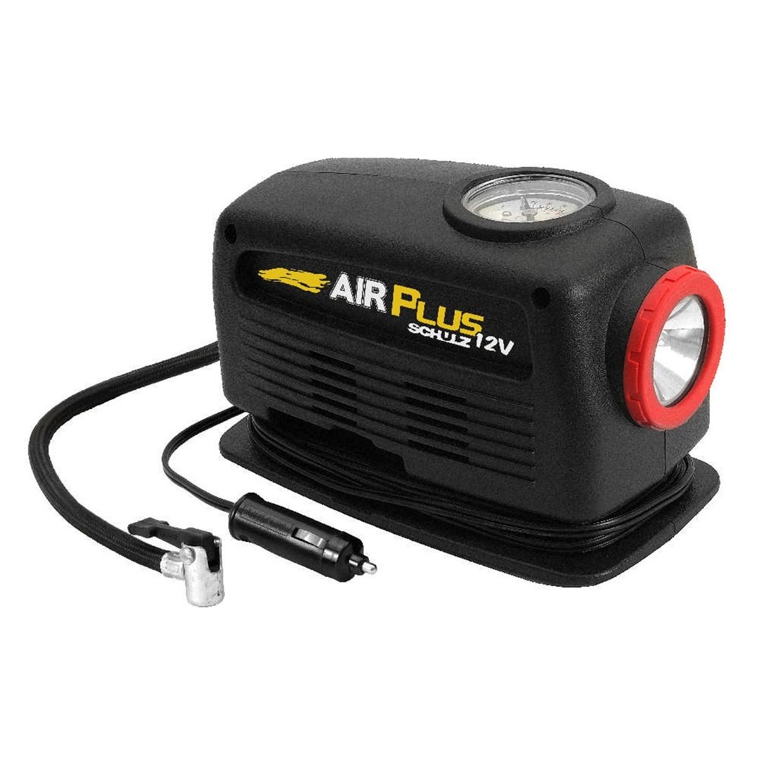 Mini Compressor C/ Lanterna 12v Schulz Airplus
