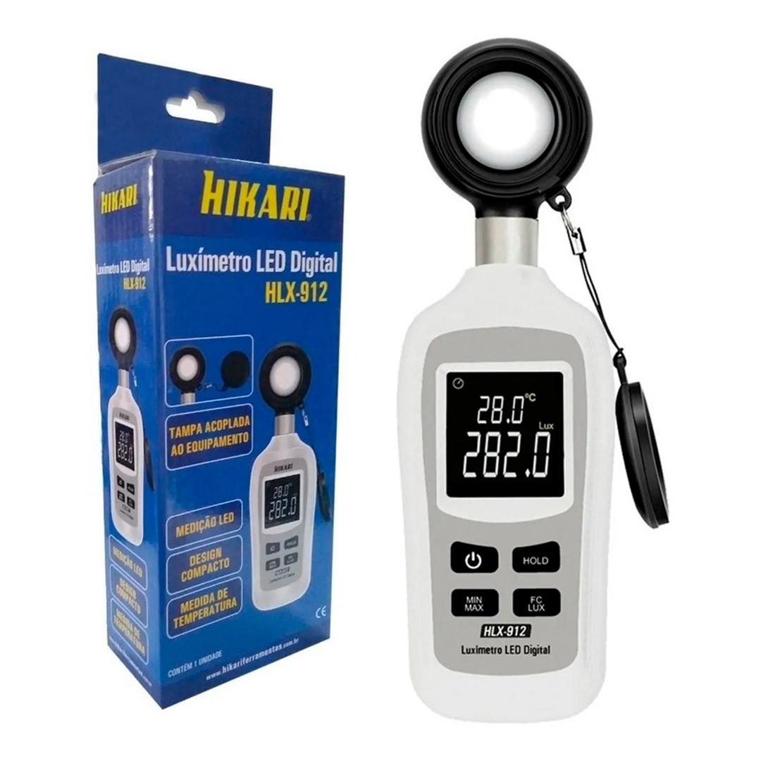 Mini Luximetro Digital Hikari HLX-912 21N223