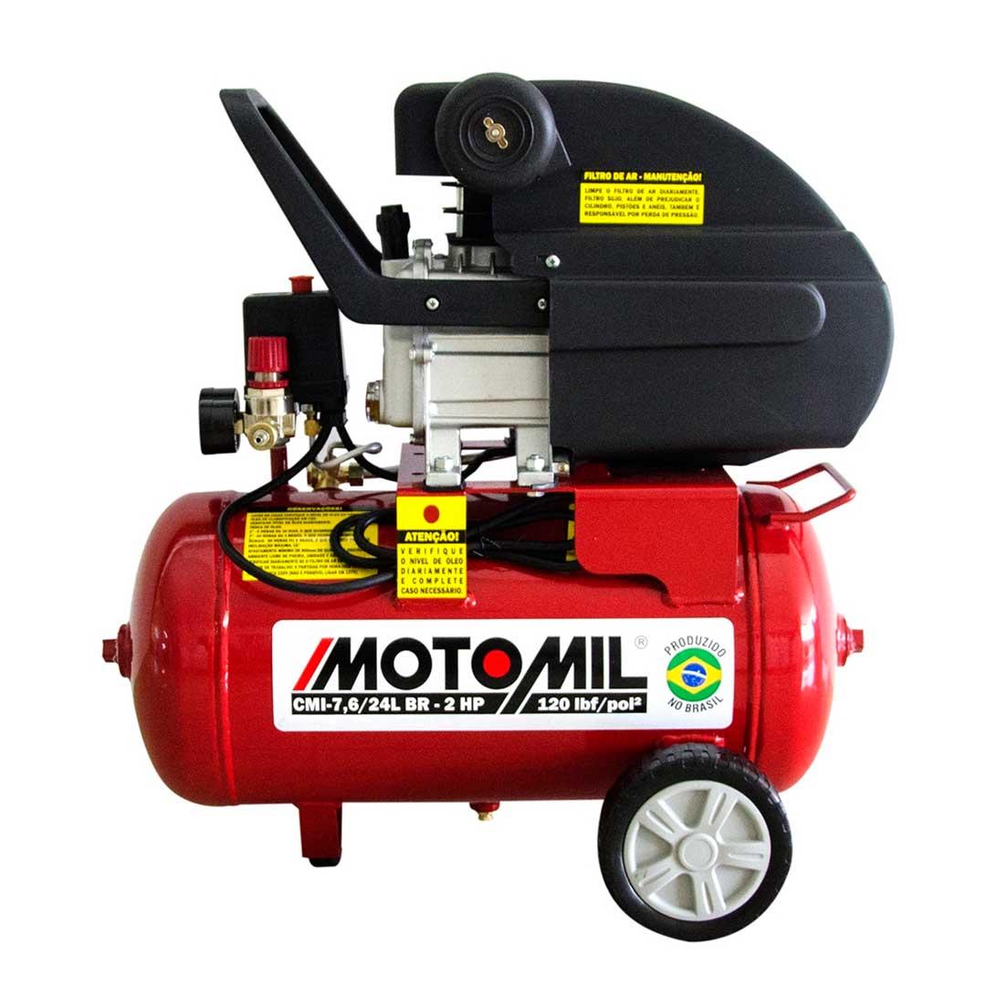 Motocompressor Motomil CMI 7,6/24l 2HP 220V 37810.2
