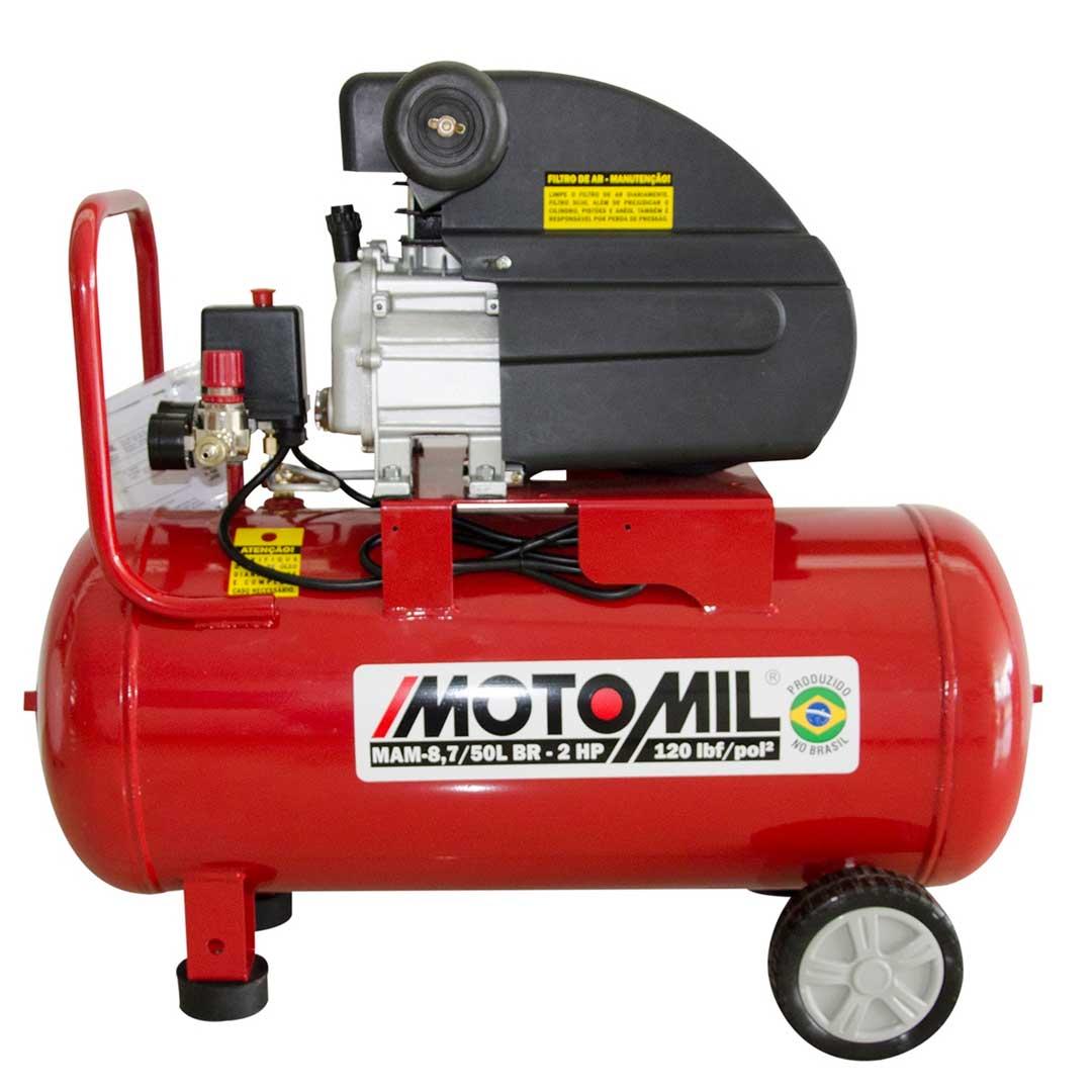 Motocompressor Motomil Mam-8,7/50 120 Lbs 2hp Mono (220v) - 37896.2