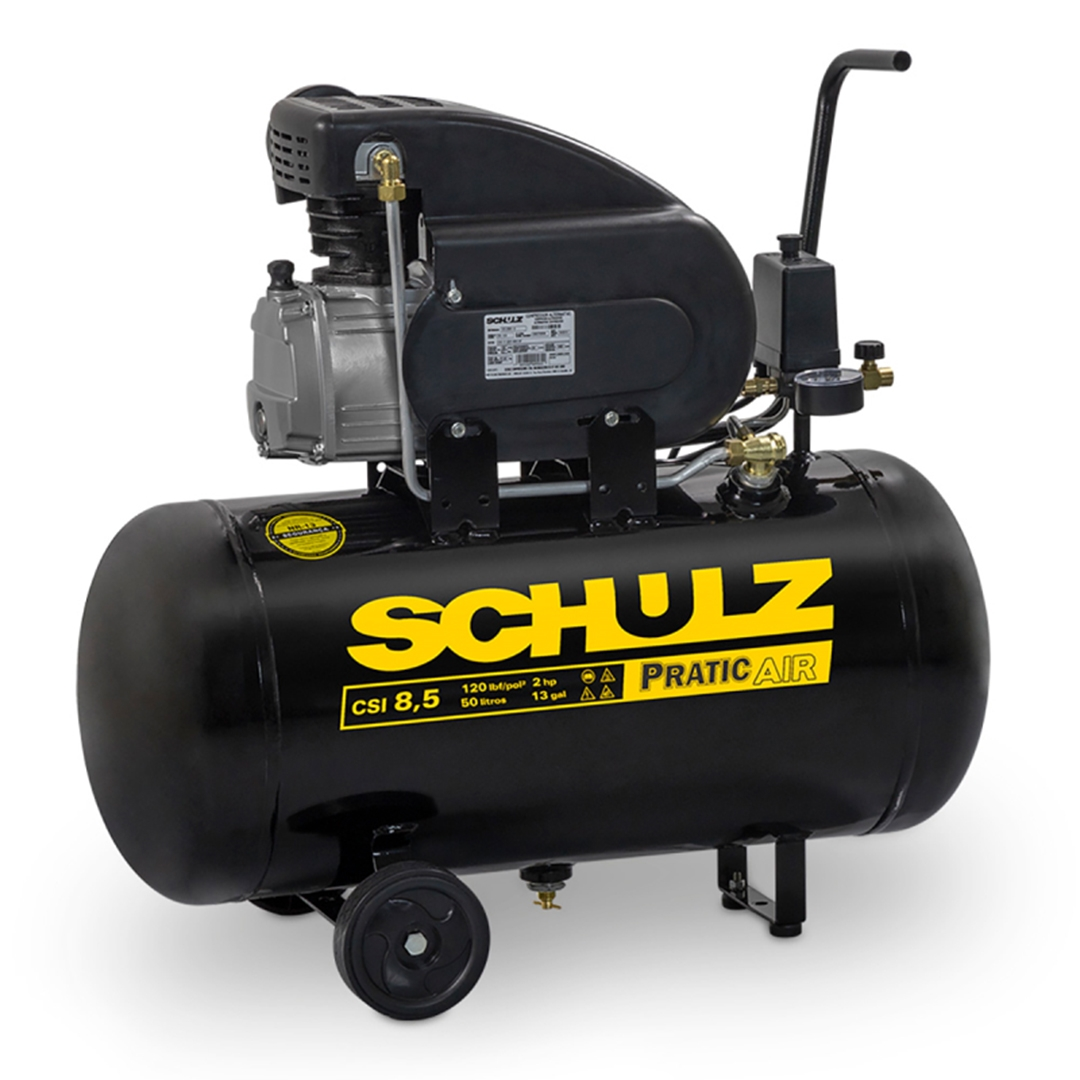 Motocompressor Schulz CSI 8,5/50 120 LBS 2HP Mono 220v - 915.0390-0