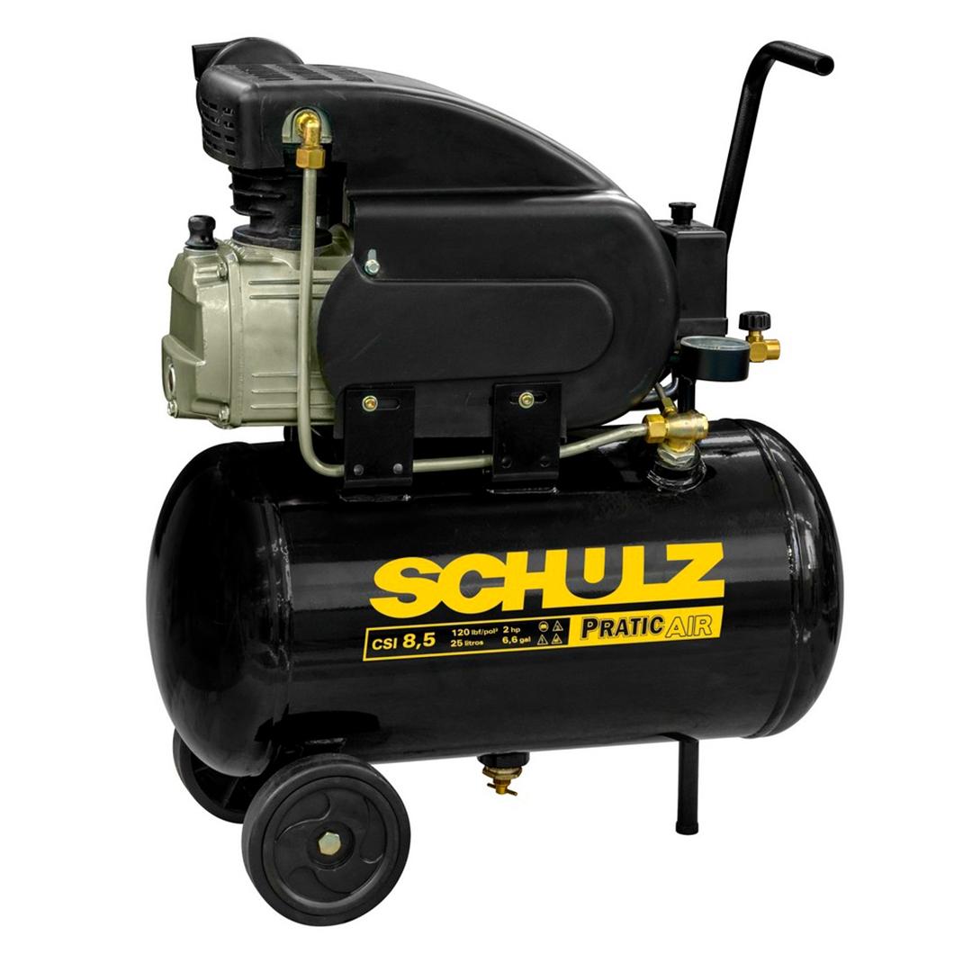 Motocompressor Schulz Pratiko CSI 8,6/25l 120 LBS 2HP Mono 220v