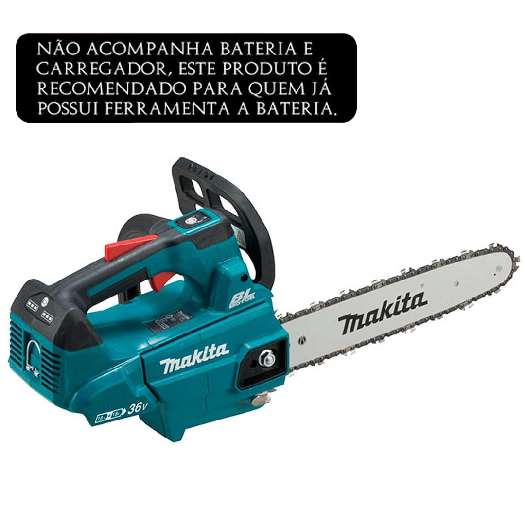 Motoserra A Bateria 36v (18v+18v) Makita Duc306z