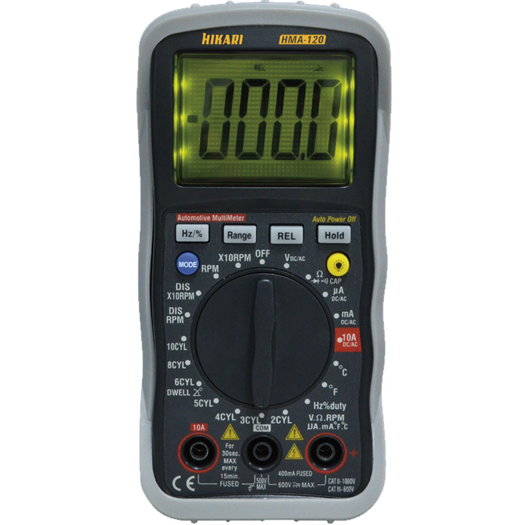 MultÍmetro Automotivo Digital HIKARI HMA-120 21N187