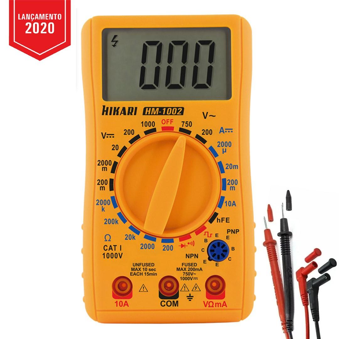 Multímetro Digital HIKARI HM-1002 - 21N264
