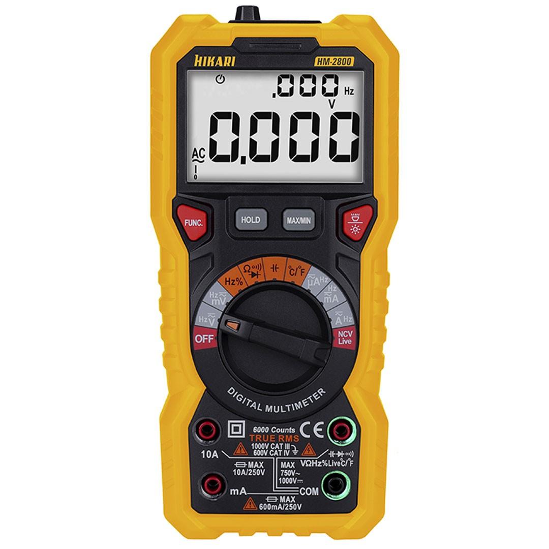 Multímetro Digital True RMS HM-2800 HIKARI 21N263