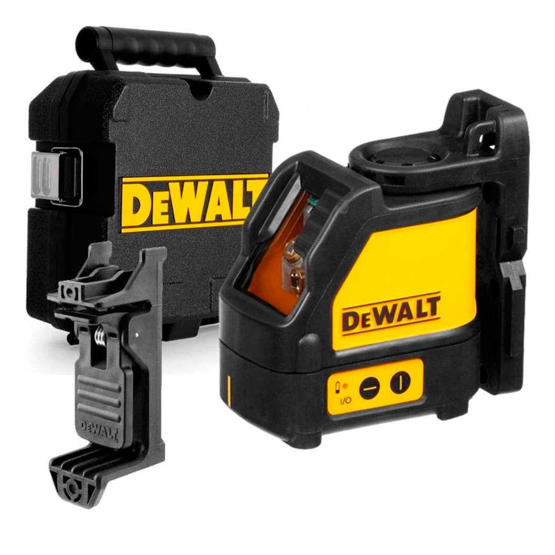 Nivel Laser Dewalt 15 metros Vermelho DW088k