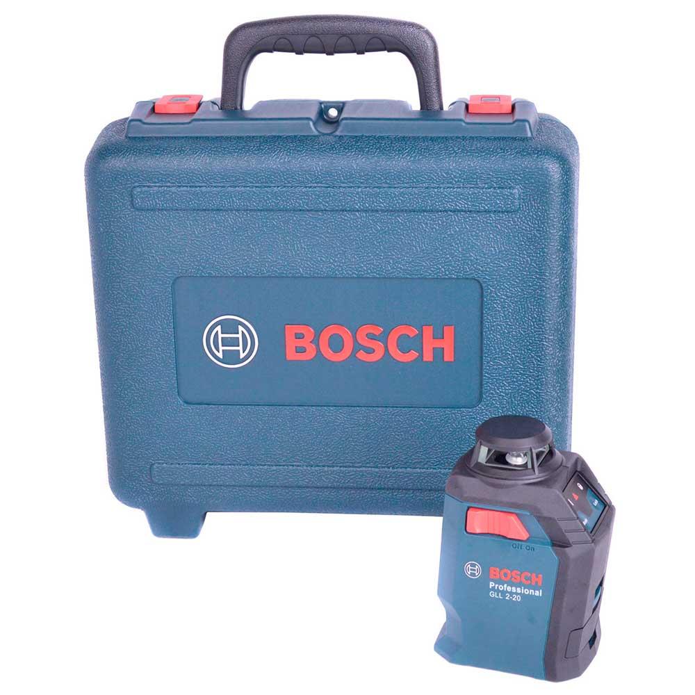 Nível Laser Linhas Cruzadas Com Maleta GLL2-20 Bosch