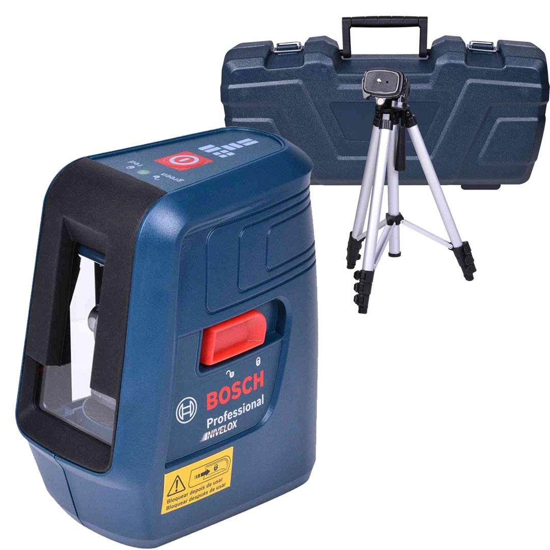 Nível Laser 15m 3 Linhas Vermelhas NIVELOX GLL 3X BOSCH 0601063XG0