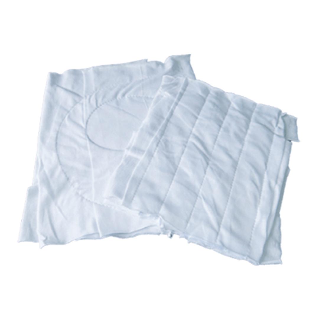 Pacote 20 Kgs Estopa Branca Costurada