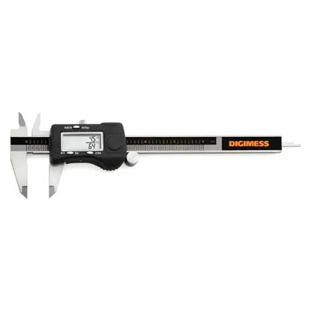 Paquímetro Digital 3 em 1 Capacidade 150mm/6