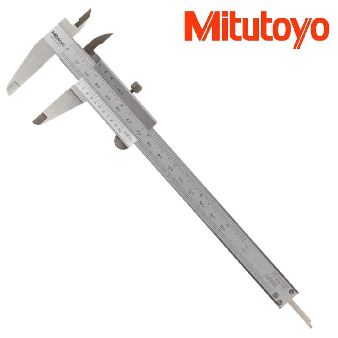 Paquímetro Manual Universal Analógico 150mm/0,05mm/ 1/128 MITUTOYO 530-104BR