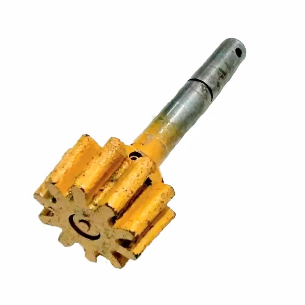 Pinhão Original Motomil 120 / 150 Litros 9 Dentes Com Eixo