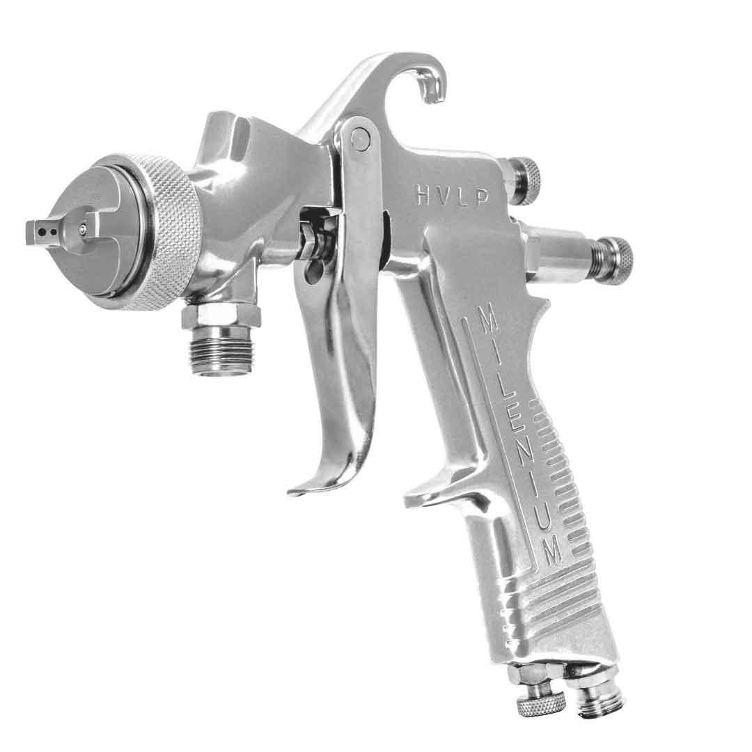 Pistola De Pintura P/ Tanque Bico 1.0 Mm Millenium Hvlp T 10196000