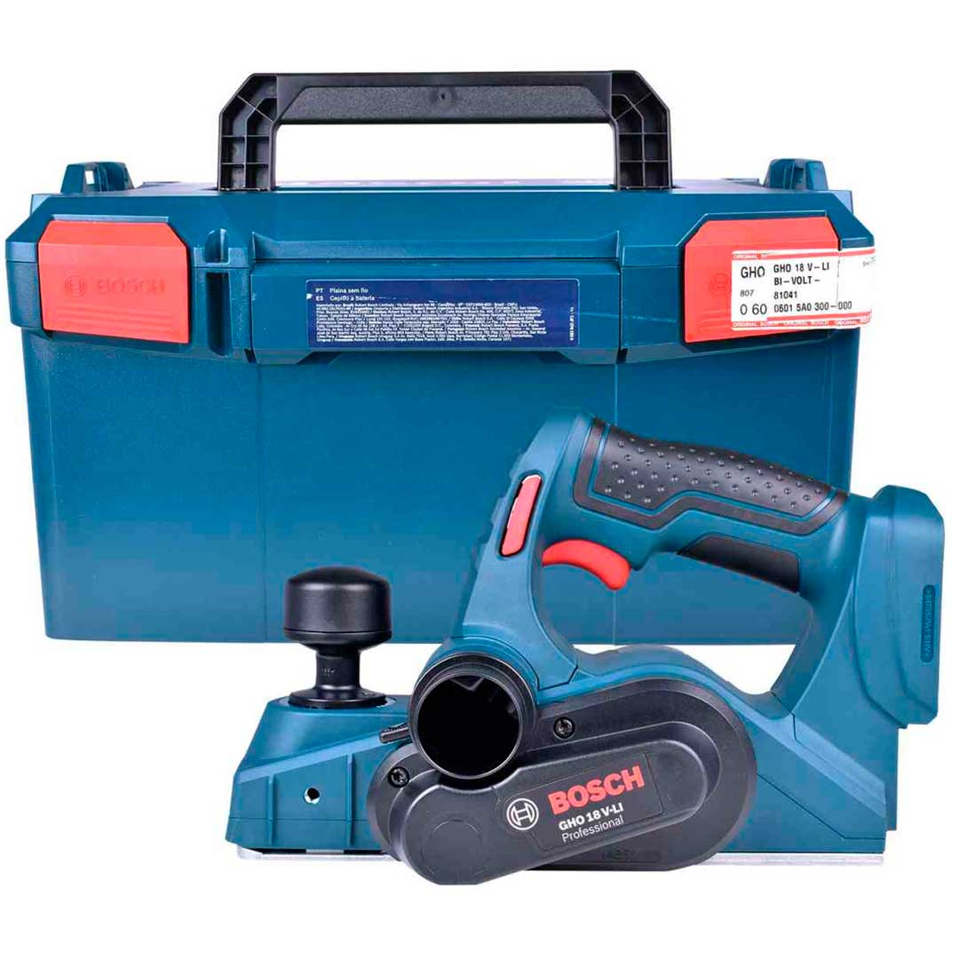 Plaina A Bateria Gho 18v-Li Bosch 06015a0300