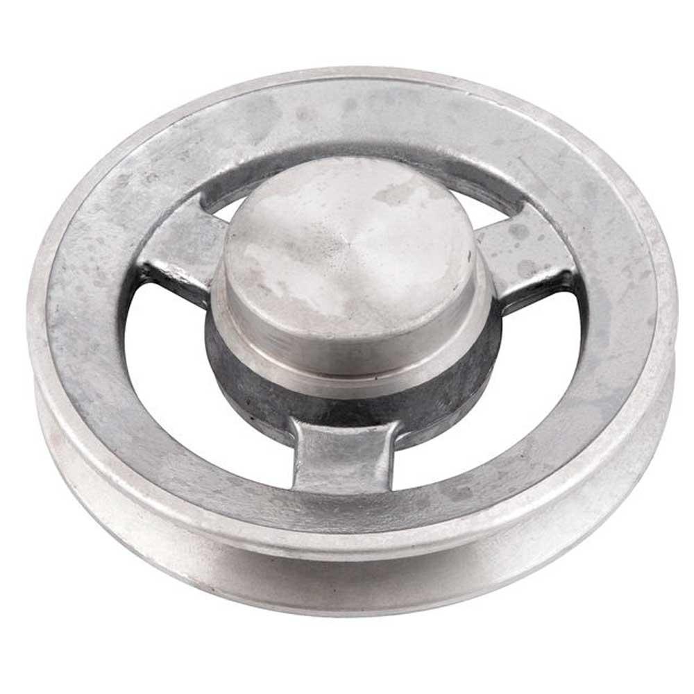 Polia Alumínio 110mm 1 Canal Perfil B- Vonder