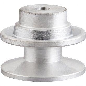 Polia Alumínio 1 Canal B-140mm Perfil B Vonder - 6684210140