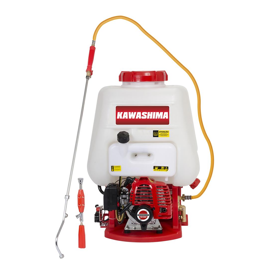 Pulverizador A Gasolina Costal 2 Tempos 25,4cc Kawashima PCG2625 - 3300300