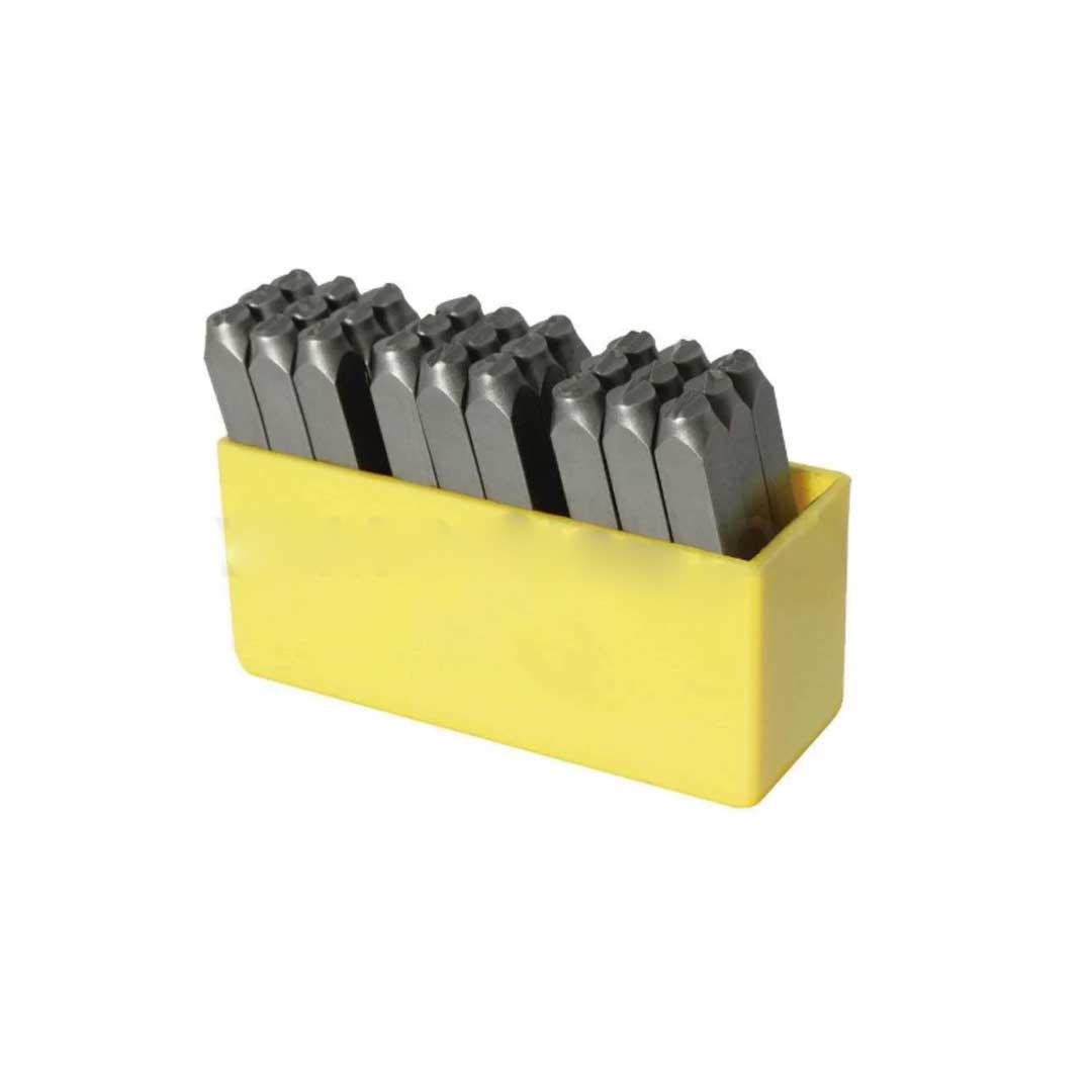 Punção Alfabético - 3,00mm - Ref. 27 PCS Rocast 60,0014