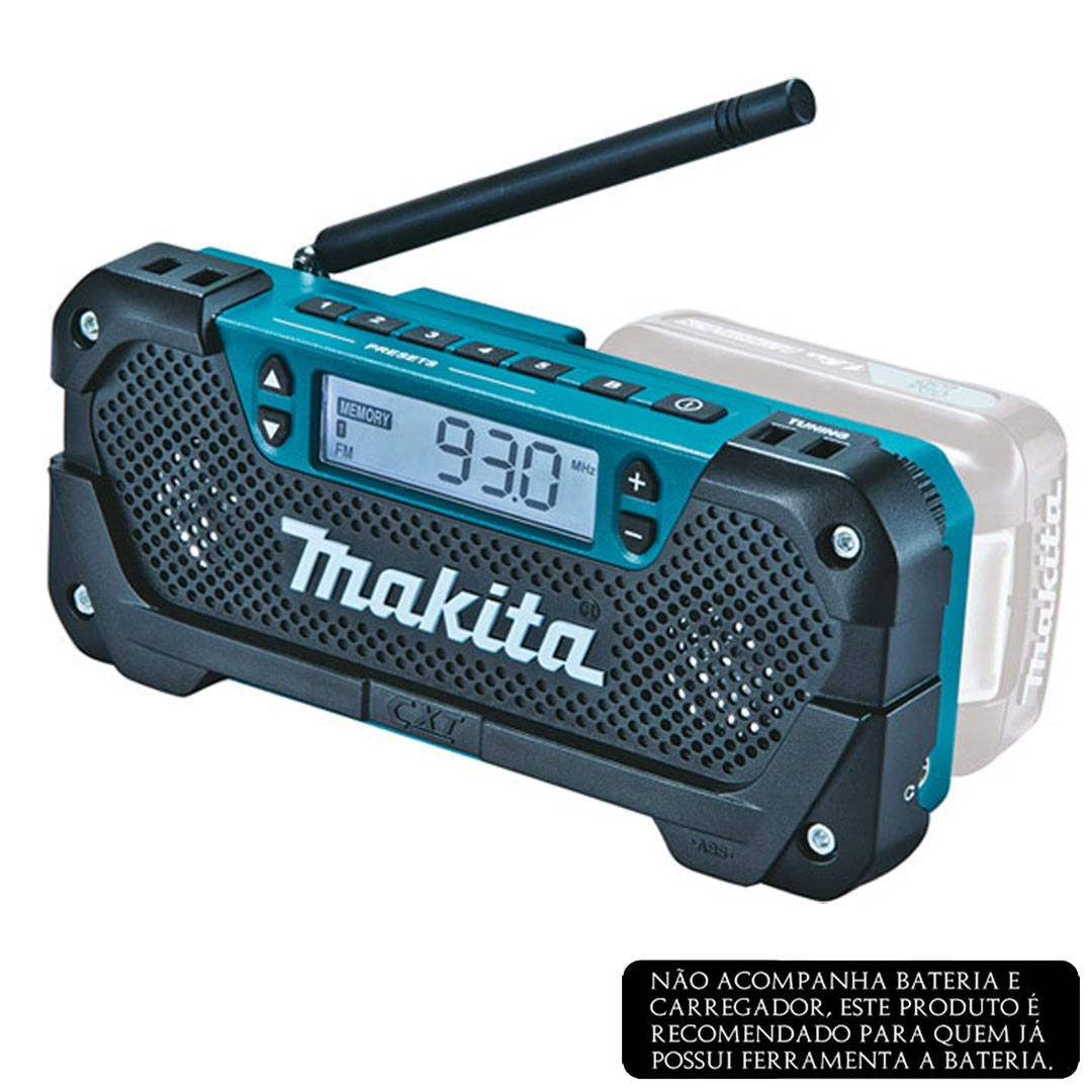 Rádio a Bateria 12V CXT MAKITA MR052