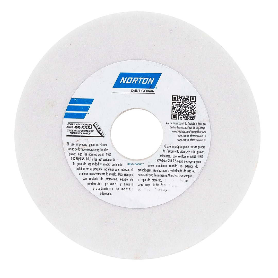 Rebolo Branco 203,2 X 25,40 X 31,8 FE 38A 46K Norton - 66253455550