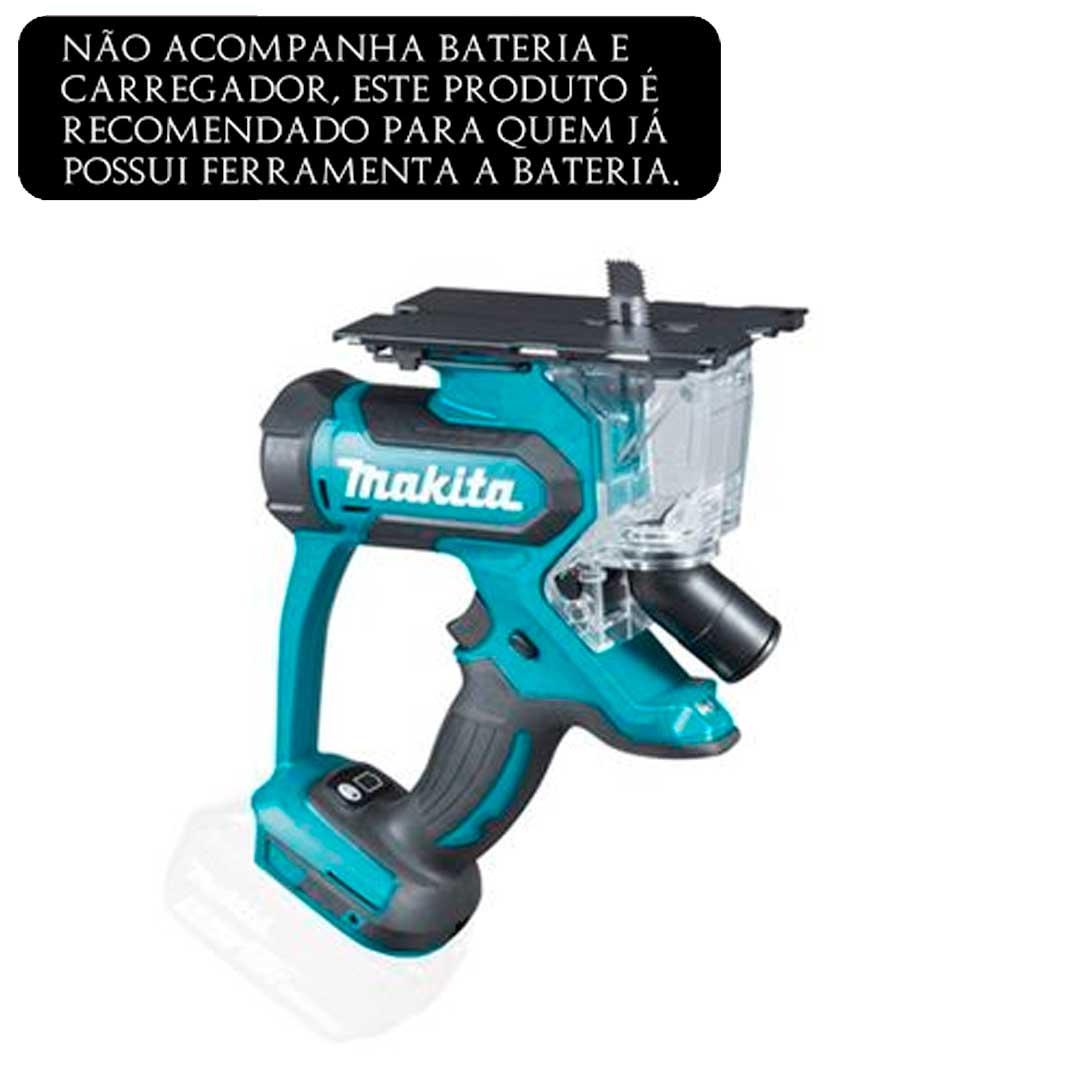Recortadora De Gesso A Bateria 18v Makita Dsd180z