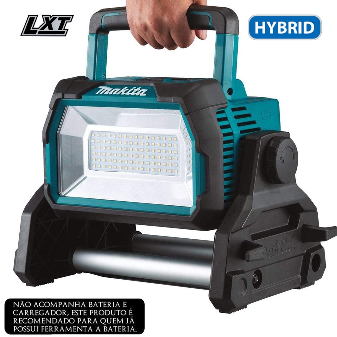 Refletor (Lanterna) de Iluminação Led 18V Bateria/ Elétrico MAKITA DML809
