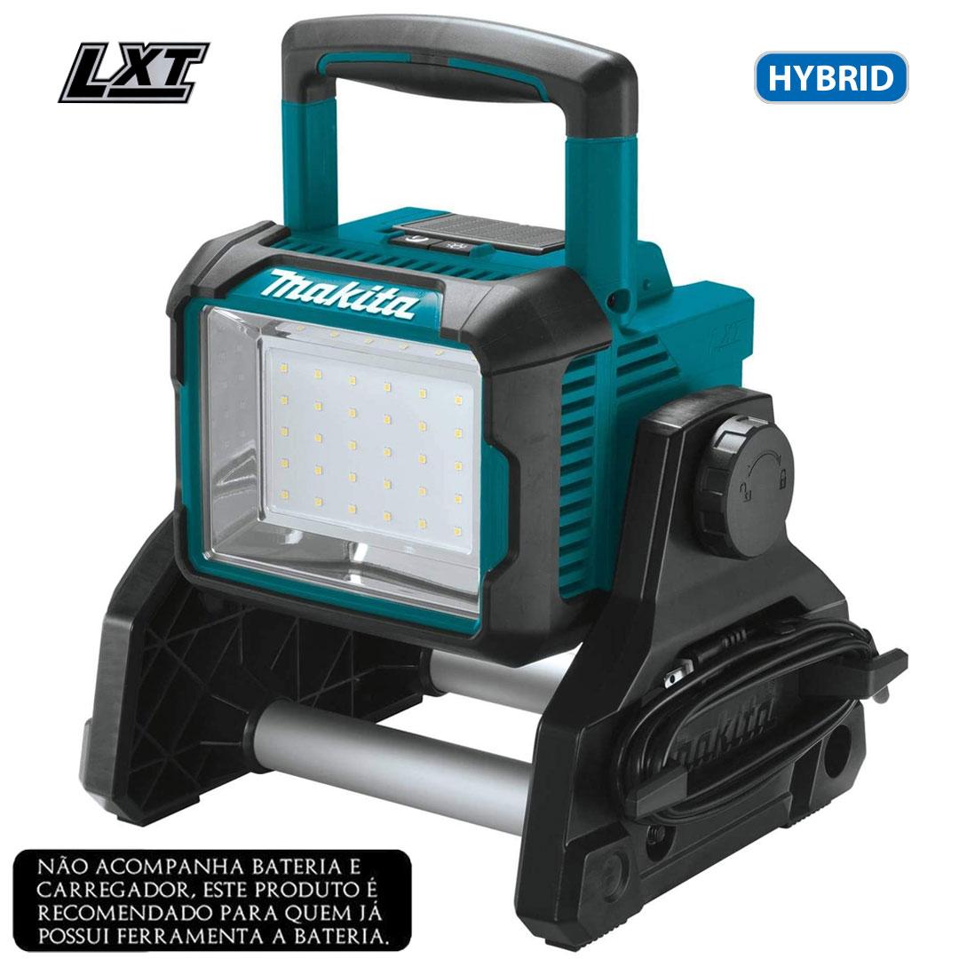 Refletor (Lanterna) de Iluminação Led 18V Bateria/ Elétrico MAKITA DML811