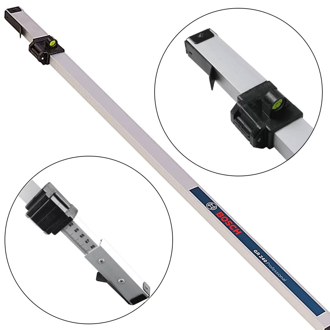 Régua de Medição para Nível 2,4mt Bosch GR 240 0601094100