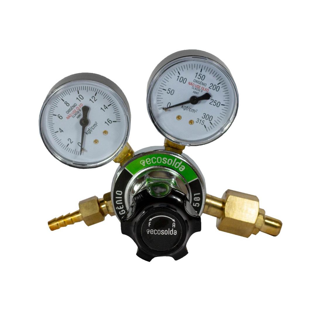 Regulador De Pressao Oxigenio Ecosolda ROX 501