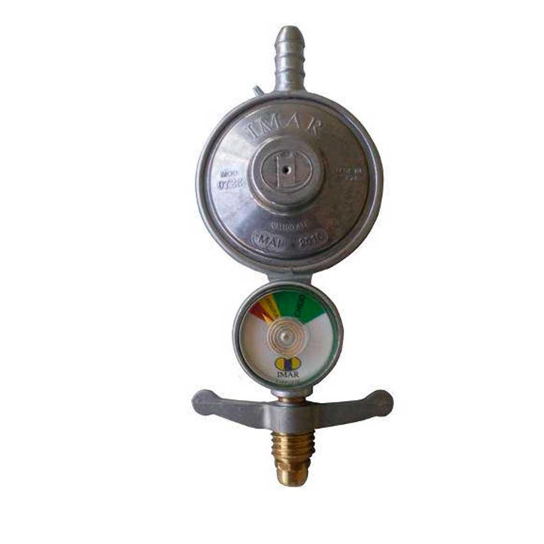 Regulador Gas Blindado Manometro Imar