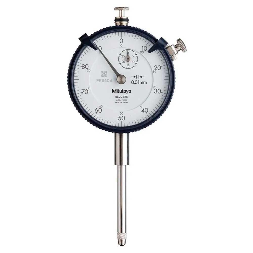 Relógio Comparador 10mm 0,01mm MITUTOYO 2046S