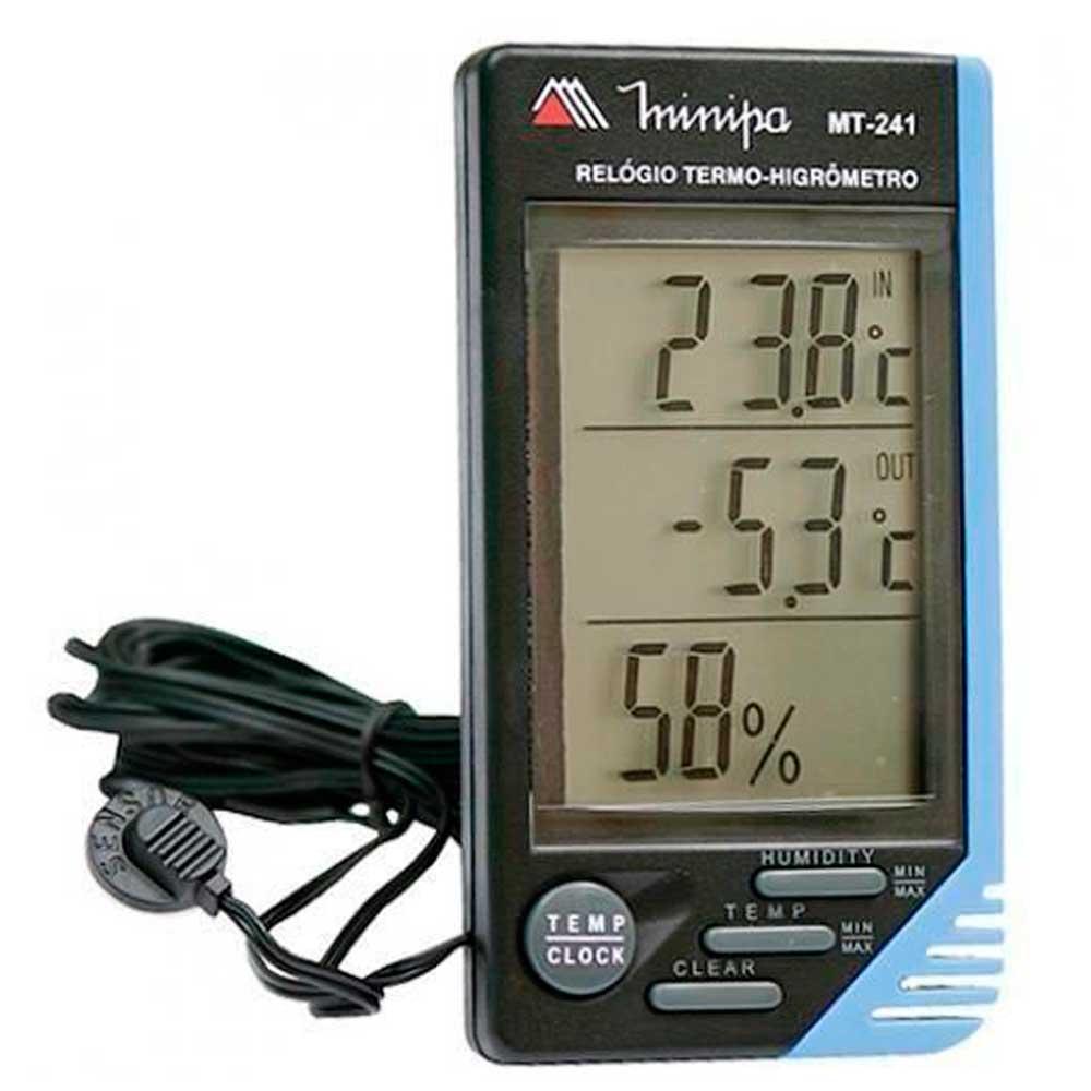 Relogio Termo  Higrometro  MT-241 Minipa