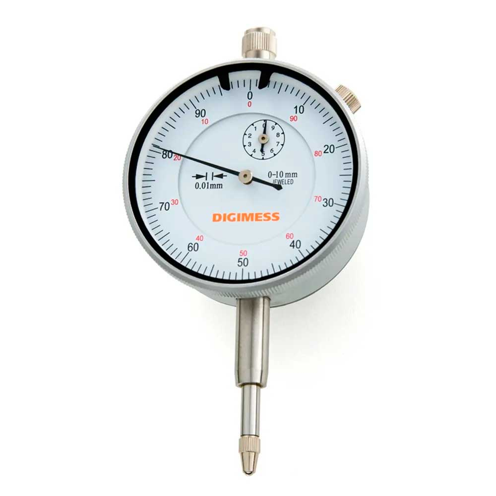 Relógios Comparador Tampa Traseira Com Orelha Capacidade 0-5mm Digimess 121.301