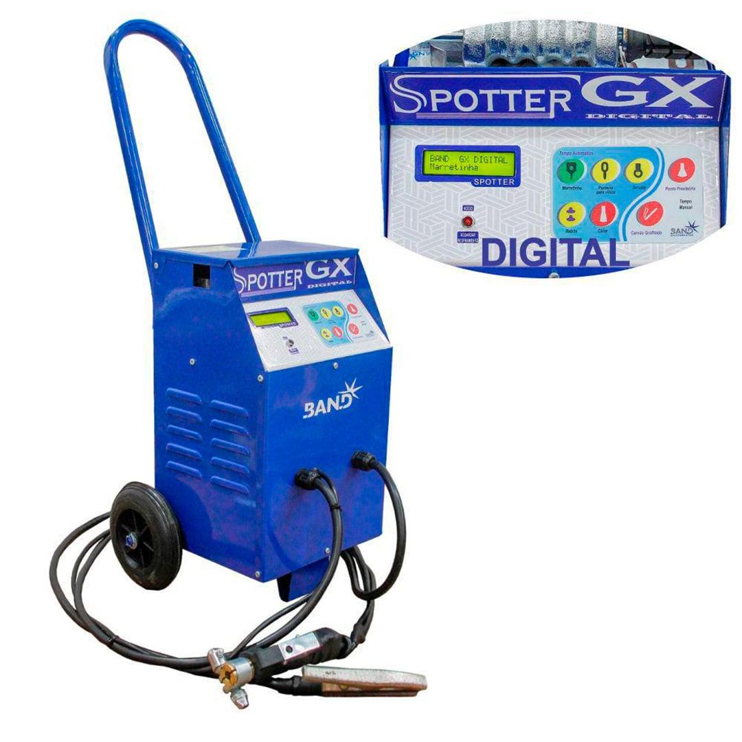 Repuxadeira Eletrica Spotter GX com Painel Digital Band Monofasica 220v