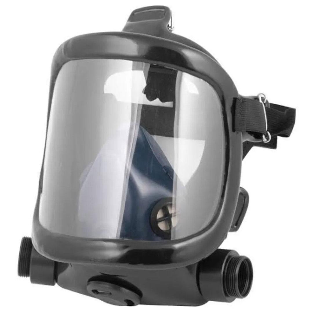 Respirador Panorâmico Facial PLASTCOR 700.30059 Para 2 Cartuchos Químicos