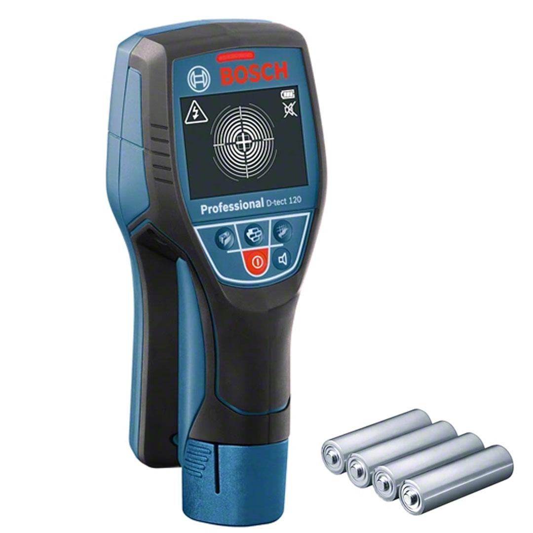 Scanner Detector de Materiais BOSCH D-TECT 120 0601081300
